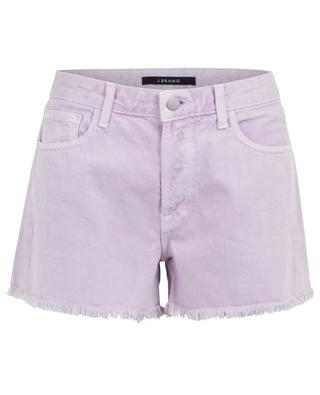 Gracie high-rise shorts with fringes J BRAND