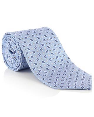 Geblümte Krawatte aus Seide Martin ROSI COLLECTION