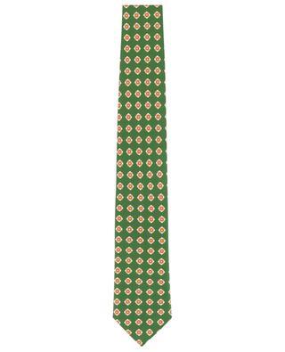 Cravate en soie imprimée Martin ROSI COLLECTION