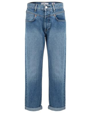 Jeans mit hoher Taille Double Yoke Rigid RE/DONE