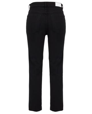Gerade Jeans mit hoher Taille High-Rise Stove Pipe Faded Black RE/DONE