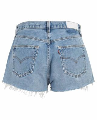 The Short faded denim shorts RE/DONE