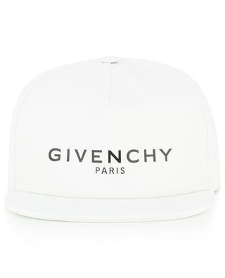 Logo adorned cotton baseball cap GIVENCHY