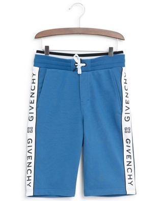 Sweat Bermuda shorts with logo ribbon GIVENCHY