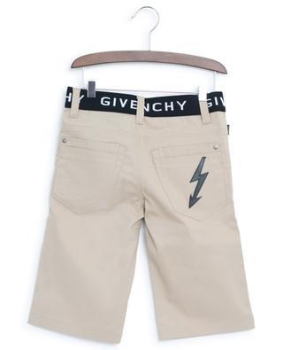 Gabardine Bermuda shorts with logo waistband GIVENCHY