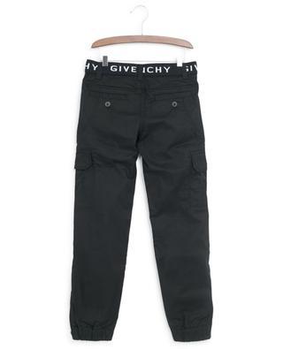 Pantalon cargo taille logo GIVENCHY