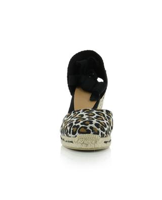Espadrilles mit Leopardenprint Carina CASTANER