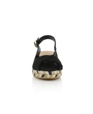 Sandales en toile à brides croisées Brianda 30 CASTANER