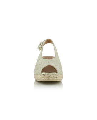 Sandales compensées dorées Dosalia 30 CASTANER