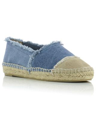 Kampala faded canvas flap espadrilles CASTANER