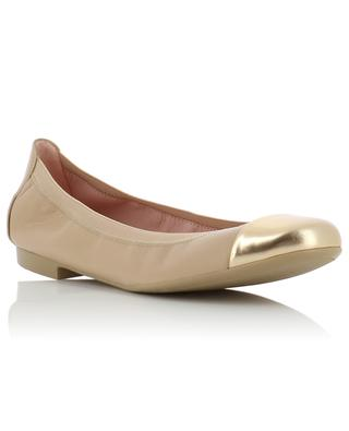 Shirley metallic cap ballet flats PRETTY BALLERINAS
