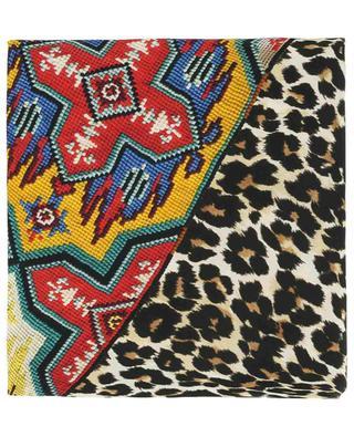 Aloeuw Wash Rombo diamond shaped scarf PIERRE LOUIS MASCIA