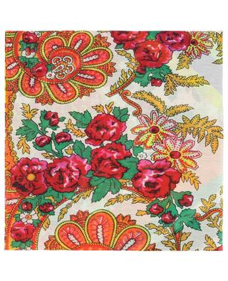 HAWN cotton and silk scarf PIERRE LOUIS MASCIA