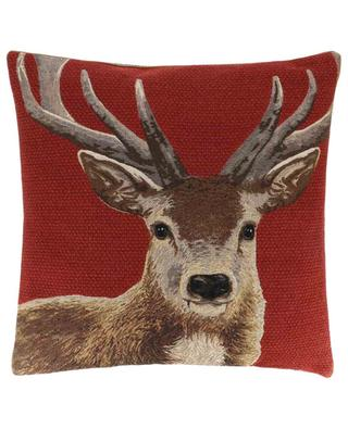 Sostene tapestry stag cushion IOSIS