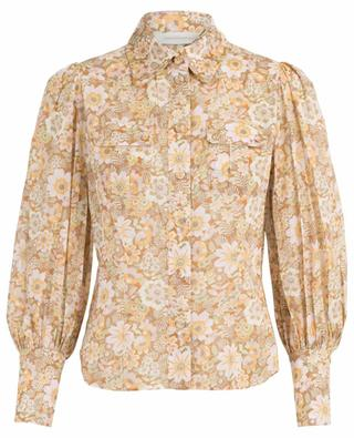 Zippy Body floral puff sleeve shirt ZIMMERMANN