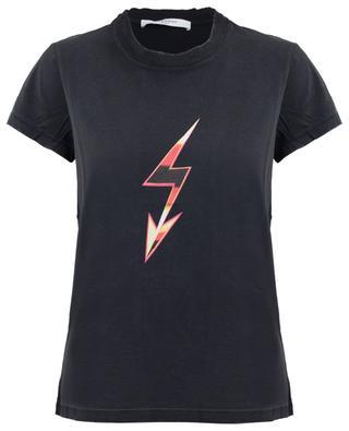 T-shirt effet vieilli imprimé Mad Love Tour GIVENCHY