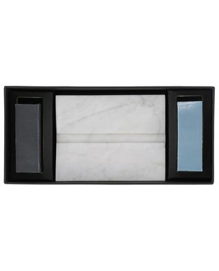 Marble soap holder and soaps set RES