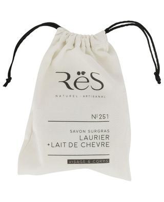 N°251 emmolient laurel and goat milk soap RES