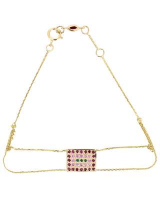 Bracelet en or Victoria 1 Rouge SOPHIE D'AGON