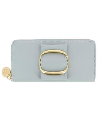 Portefeuille zippé en cuir Hopper Smart SEE BY CHLOE