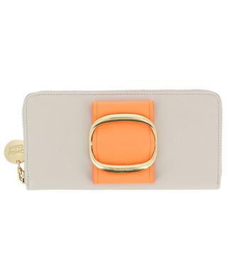 Portefeuille zippé Hopper Smart Sparkling Orange SEE BY CHLOE