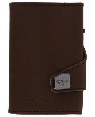 Dakota smooth leather card-holder TRU VIRTU
