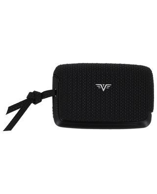 Woven leather card-holder TRU VIRTU