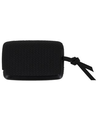 Woven leather card-holder TRU VIRTU
