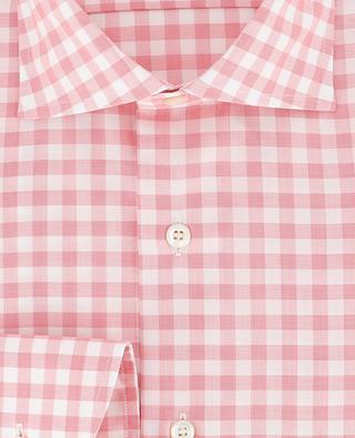 Chemise ornée de carreaux vichy BRULI