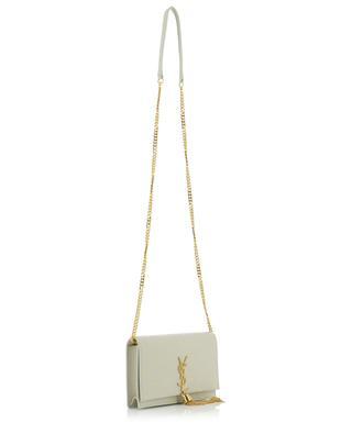 Portefeuille chaîne en cuir étoilé Kate Chain Wallet SAINT LAURENT PARIS