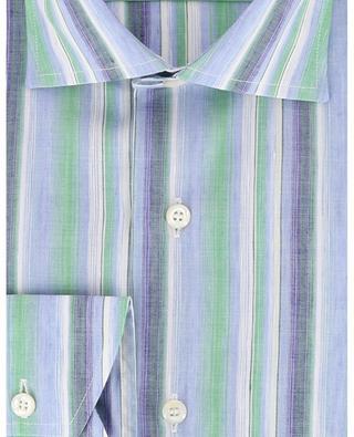 Chemise rayée en lin et coton BRULI