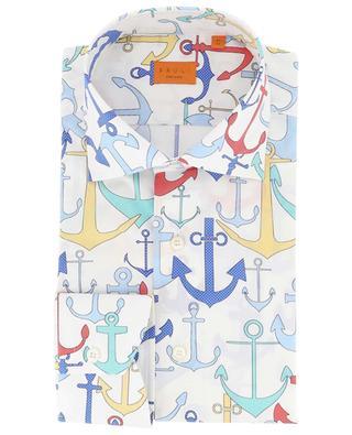 Heritage anchor print shirt BRULI