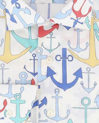 Hemd mit Ankerprint Heritage BRULI