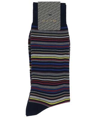Chaussettes rayées multicolores Genjo Short ALTO