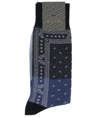 Yuri Short bandana print socks ALTO