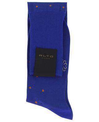 Chaussettes longues à pois Filoscozia N°219 ALTO