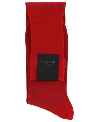 Filoscozia N°219 long polka dot socks ALTO