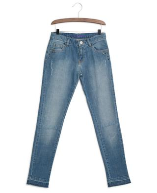 Bestickte Slim-Fit-Jeans im Used-Look Paloma ZADIG & VOLTAIRE