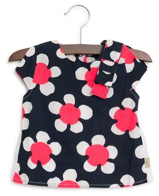 Top bi-matière fleuri Daisy LITTLE MARC JACOBS