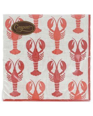 Lobsters Luncheon paper napkins CASPARI
