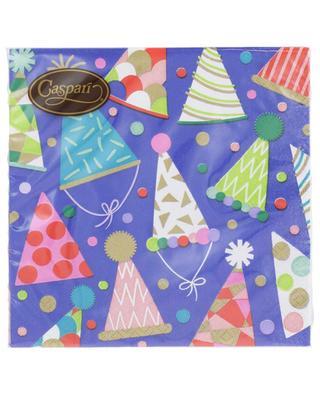 Party Hats Luncheon paper napkins CASPARI