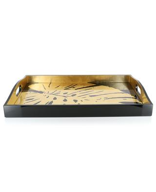 Palm Leaves large rectangular tray CASPARI