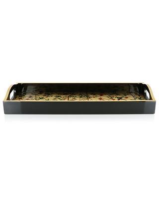 Bar-Tablett aus lackiertem Holz Chinese Wallpaper CASPARI