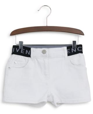 Jeansshorts mit Logotaille GIVENCHY