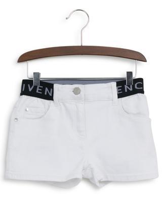 Short en jean taille logo GIVENCHY