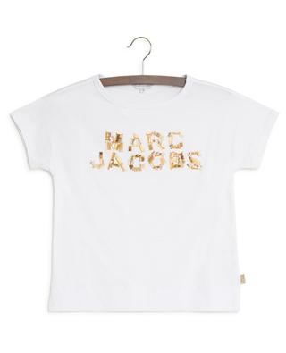 Logo T-shirt with beads LITTLE MARC JACOBS