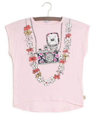 T-Shirt mit Trompe-L'Oeil-Print LITTLE MARC JACOBS