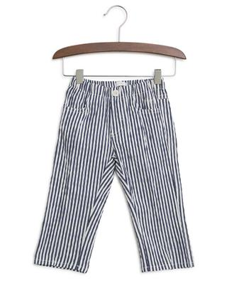 Striped cotton blend trousers IL GUFO