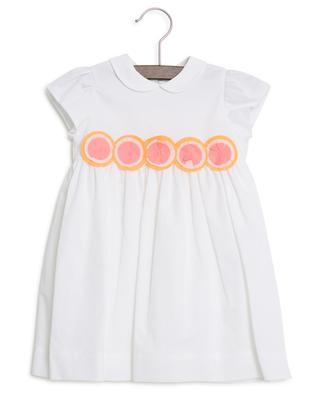 Rosette embroidered dress IL GUFO