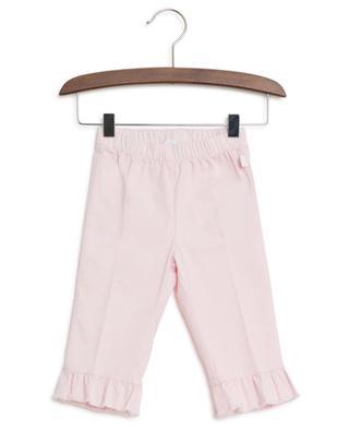 Pantalon en coton avec volants IL GUFO